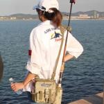 อุปกรณ์ตกปลากระเป๋าเป้