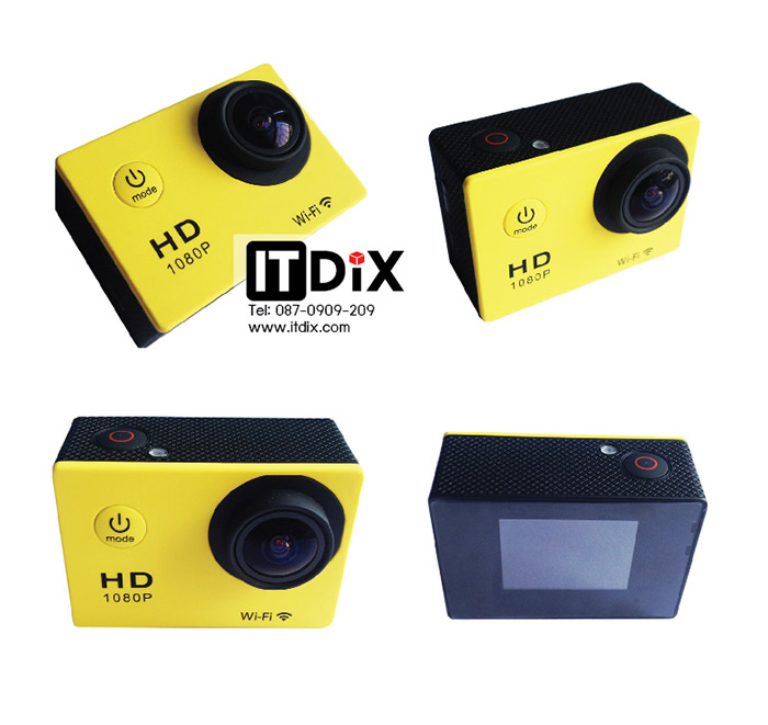 Sport HD DV Full HD H.264 WiFi
