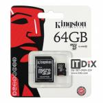 Micro SD Card Kingston 64 GB CLASS 10