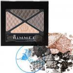 Rimmel London Glam'Eyes Eyeshadow Palette#028 English Breakfast พาเลทอายเชโดว์สีสวย 4 โทนสีไล่ระดับ ให้แต่งตาดูมีมิ สีแน่นติดทนทั้งวันค่ะ