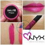 NYX Soft Matte Lip Cream สี # SMLC18 Prague
