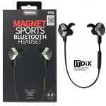 Remax RM-S2 Magnet Sports Bluetooth Headset สีดำ