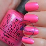 O.P.I. Nail Lacquer # OPI Hotter Than You Pink