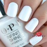 O.P.I Infinite Shine 2 Nail Lacquer 15mL # Non-Stop White