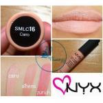 NYX Soft Matte Lip Cream สี # SMLC16 Cairo