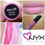 NYX Soft Matte Lip Cream สี # SMLC13 Sydney สีชมพูนมเย็น