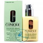 Clinique Dramatically Different Moisturizing Lotion + with Pump 125 mL (Very Dry to Dry Combination) ใหม่ล่าสุดในโฆษณา