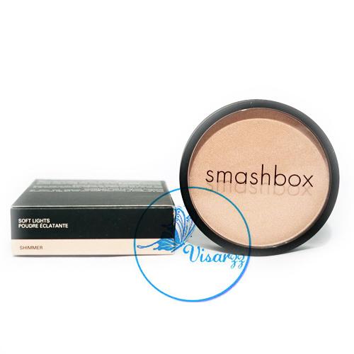 Smashbox Soft Lights 10g # Shimmer สีน้ำตาลอ่อนผสมชิมเมอร์ ไฮไลท์บลัช เนื้อบางเบา ใช้เพื่อความเป็นประกายให้ใบหน้า