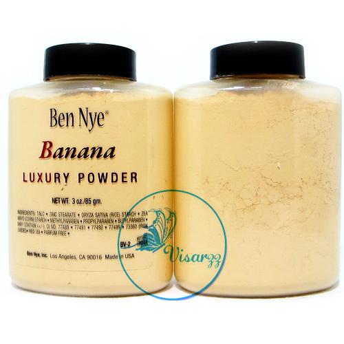 Ben Nye Banana Luxury Powder 85 g แป้งกล้วยสุดฮิต สินค้าขายดีตอนนี้ของอเมริกา คุมมันดีเยี่ยม เนื้อเนียนเรียบ