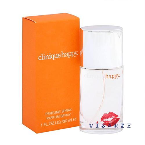 (เคาเตอร์ไทย ลด 35%) Clinique Happy Perfume Spray 30 mL น้ำหอมที่ผสานกลิ่นของดอกไม้ในตระกูล Citrus กับดอกไม้ของต้น West Indian Mandarin Tree Blossom