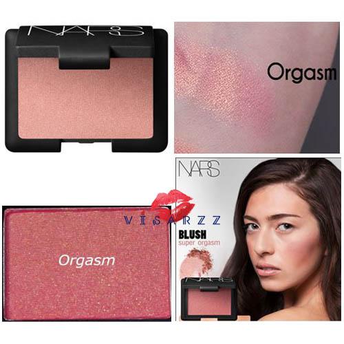 (# Super Orgasm) Nars Blush Cheek Color 4.8g # Super Orgasm บลัชออนเนื้อฝุ่น สีพีชมีชิมเมอร์เพิ่มประกายให้พวงแก้มโดดเด่น