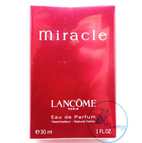 (ลดมากกว่า 40%) Lancome Miracle EDP Natural Spray 30 mL น้ำหอมที่ขึ้นแท่นตำนาน หญิงสาวทุกคนต้องเคยผ่านกลิ่นนี้ กลิ่นหอมบริสุทธิ์เหมือนอย