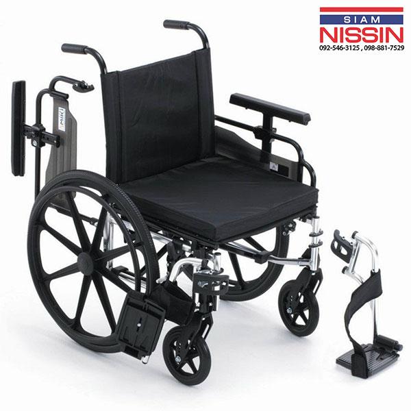 รถเข็นผู้ป่วย สำหรับผู้ใช้งานน้ำหนักมาก MIKI รุ่น MPTWSW-45HUS