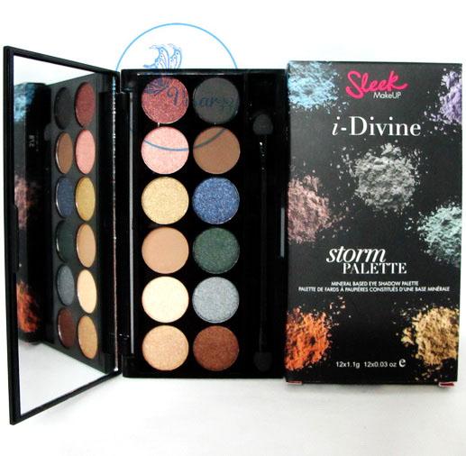 Sleek i-Divine Eyeshadow Palette # Storm อายแชโดว์สีสวย สามารถใช้ได้ประจำวันค่ะ