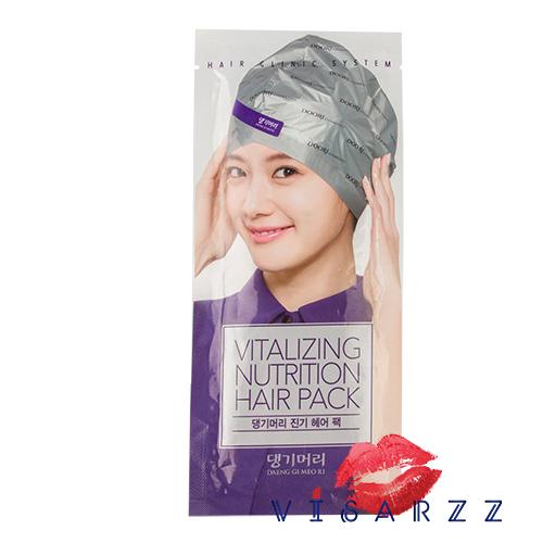Daeng Gi Meo Ri Vitalizing Nutrition Hair Pack 35g แบบหมวก ทรีทเม้นท์ แบบหมวก ใช้บำรุงเส้นผม จากต้นซังโพ่ ช่วยให้ผมนุ่มสลวยมีสุขภาพดีเร่งด่วน