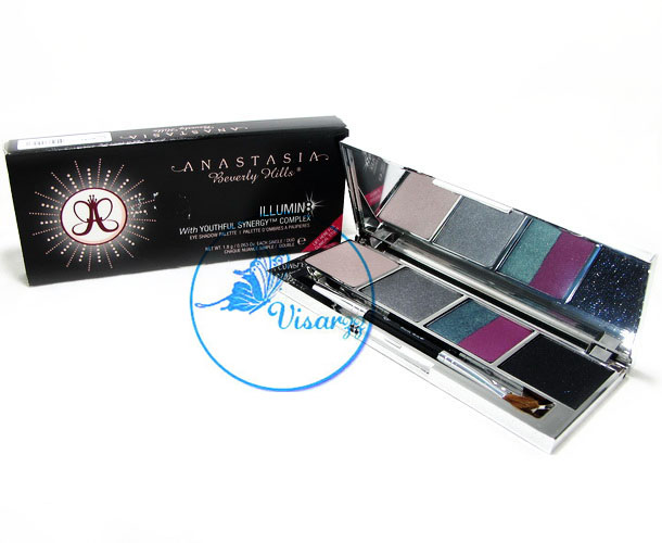 Anastasia Beverly Hills ILLUMIN8 Eye Shadow Palette # 3 Milky Way อายแชร์โดว์พาเลท แต่งคิ้วและดวงตาให้สวยงามดั่งมืออาชีพ