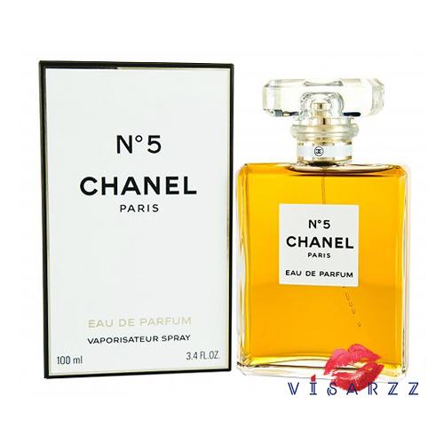 (สินค้าของแท้ ฉลากดิวตี้ฟรี) Chanel No.5 Eau de Parfum 100mL กลิ่นหอมอ่อนโยน ของดอกไม้ที่บ่ง บอกถึงผู้หญิงที่มีเสน่ห์ชวนให้หลงใหล แบบว่าไม่มีวันลืม ด้วยการผสมผสานของดอกไม้นานพันธุ์ ช่วยเพิ่มเสน่ห์ความหอมให้กับคุณ ตราบนานเท่านาน