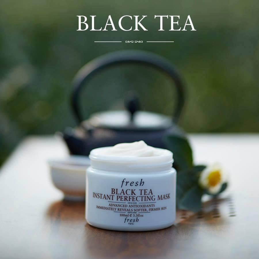Fresh, Fresh Black Tea Instant Perfecting Mask, Fresh Black Tea Instant Perfecting Mask รีวิว, Fresh Black Tea Instant Perfecting Mask ราคา, Black Tea Instant Perfecting Mask, Black Tea Instant Perfecting Mask 30 ml., Fresh Black Tea Instant Perfecting Mask 30 ml. ครีมมาสก์ที่ช่วยคืนความเนียนนุ่มชุ่มชื้น ปกป้องจากริ้วรอยแห่งวัย