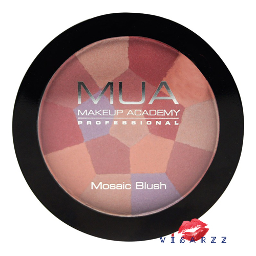 MUA Mosaic Blush 8.9g Shade 3 English Rose บรัชออนจากอังกฤษที่เป็นได้ทั้งบรัชออน และไฮไลท์ สีหวาน เพิ่มความอ่อนละมุนให้กับใบหน้าของคุณค่ะ