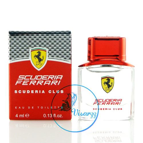 Ferrari Scuderia Club EDT 4mL แบบแต้ม