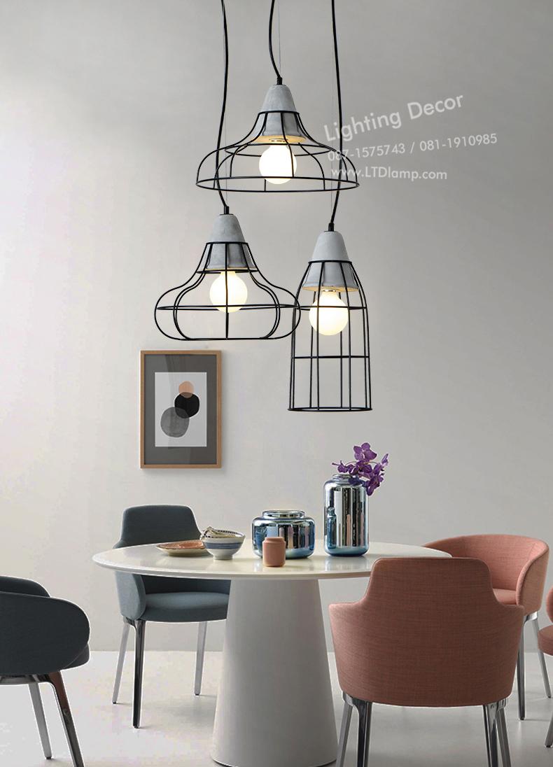 แต่งบ้านด้วยโคมไฟสไตล์ลอฟ Loft home lamp decor