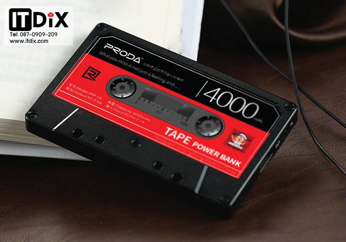 แบตสำรอง Proda TAPE 4000 mAh by Remax
