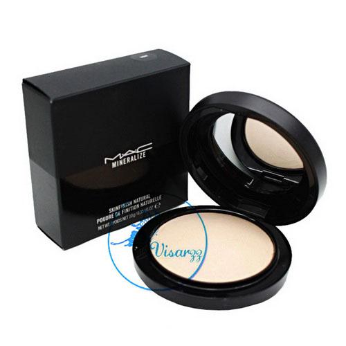 MAC Mineralize Skinfinish Natural Powder 10g # Light Plus แป้งมิเนอรัลเนื้อบางเบาใช้ัปัดหลังแต่งหน้าขั้นสุดท้าย