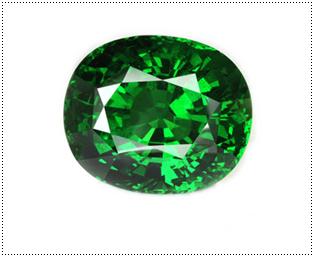 ซาวอไรต์ (Tsavorite)หรือ การ์เนตเขียว (Green Garnet)