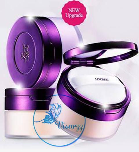 Lotree Rosa Davurica Oil Skin Care Powder 25g # 21 สำหรับผิวขาว แป้งฝุ่นควบคุมความมัน สำหรับผู้มีผิวมัน