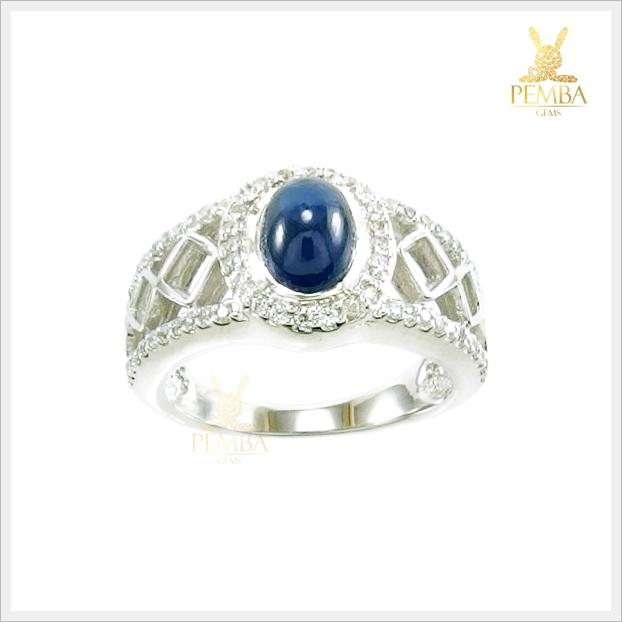 แหวนไพลินกาญ หายาก เสริมเสน่ห์ใส่ประดับนิ้วเก๋ๆ