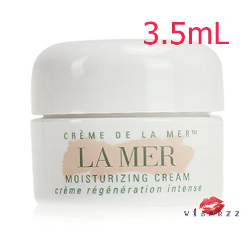 (Tester) La Mer the Moisturizing Cream 3.5mL เนื้อครีมเข้มข้น มอบความชุ่มชื้นพิเศษ ต้นกำเนิดจากท้องทะเล ผลิตภัณฑ์อันเป็นตำนานที่อุดมด้วยคุณค่าแห่งการฟื้นบำรุงผิวจากธรรมชาติ ช่วยให้เส้นริ้วและริ้วรอยลดเลือนลง ผิวแลดูกระชับ รูขุมขนดูจางลง ผิวแลดูอ่อนเยาว์ขึ