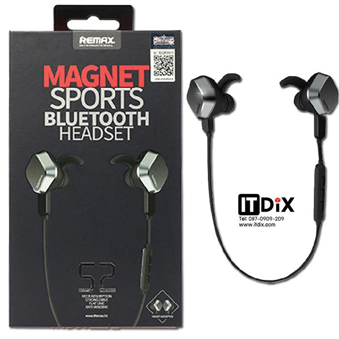 หูฟังบลูทูธ Remax RM-S2 Magnet Sports Bluetooth Headset