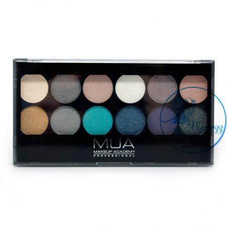MUA Dusk til Dawn Eyeshadow Palette อายแชร์โดว์คุณภาพดีจากประเทศอังกฤษ เนื้อสีแน่น ติดทนนาน