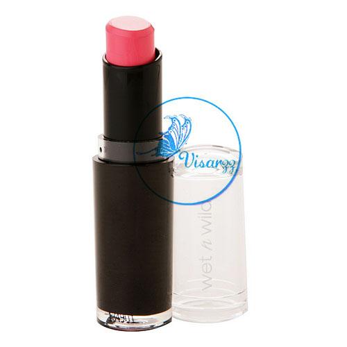 Wet n Wild Megalast Lip Color 3.3 g # 968 Pinkerbell สีชมพูกุหลาบอมส้ม ลิปสติกคุณภาพคับแก้ว ราคาน่ารัก ให้สีสันที่สดใส