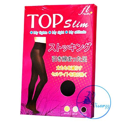 สีดำ Top Slim ถุงน่องขาเรียว ดังมากที่สุด จากญี่ปุ่น ใส่ปุ๊บ เรียวปั๊บ ตัวช่วยขั้นเทพสำหรับสาวๆ