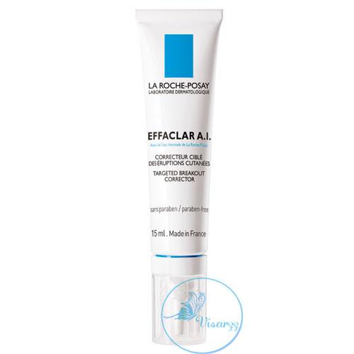 (Exp.04/18) La Roche-Posay Effaclar A.I. Targeted Breakout Corrector 15 mL ครีมแต้มผิวหน้า สำหรับผิวที่เป็นสิวง่าย