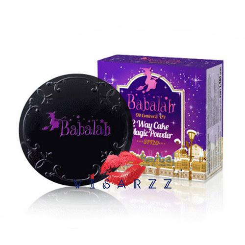 (สูตรใหม่ เบอร์ 19) Babalah Magic Powder Oil Control & UV 2 Way Cake SPF20 เน้นปกปิดคุมมันยาวนาน ตอบโจทย์ผิวสาวไทยได้ทุกองศา หมดยุค!! แป้งหนาเหมือนฉาบปูน เข้าเทรนด์ใหม่สาวหน้าใสไม่โบ๊ะ ง๊ายง่าย ทาปุ๊บ เด้งปั๊บ ไม่หนา ไม่วอก ธรรมชาติสุดๆ