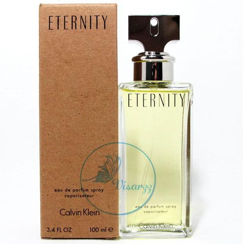 (กล่อง Tester ลด 65%) Calvin Klein Eternity EDP Spray 100 mL หอมกลิ่นดอกไม้ โดดเด่นด้วยกลิ่นลิลลี่ หอมแบบลึกล้ำและมีเสน่ห์ ของหญิงสาว