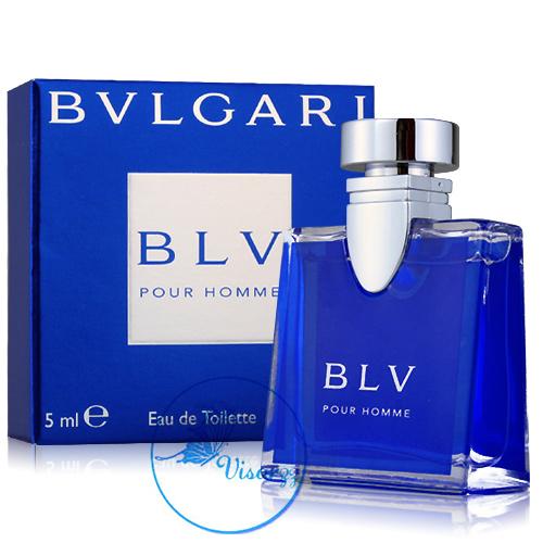 Bvlgari BLV Pour Homme EDT 5mL กลิ่นจะออกแนวผู้ชายหอมแบบฉบับผู้ชายทันสมัย แฝงด้วยความรู้สึกมีเสน่ห์
