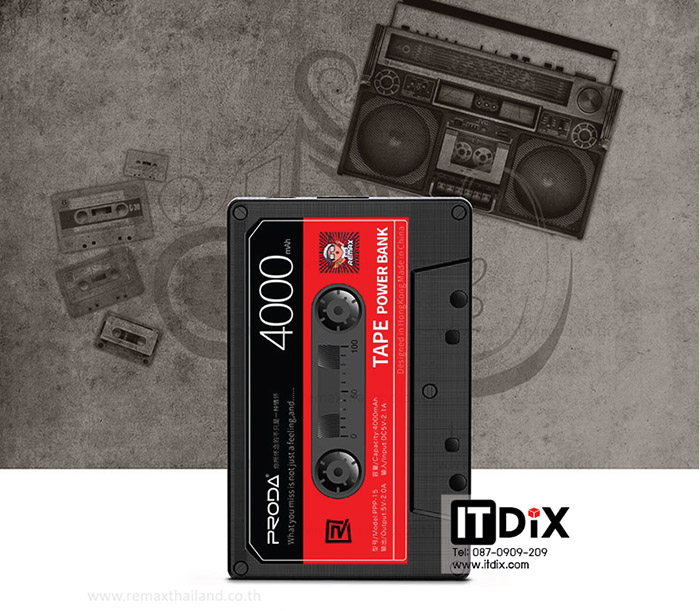 Proda TAPE 4000 mAh by Remax