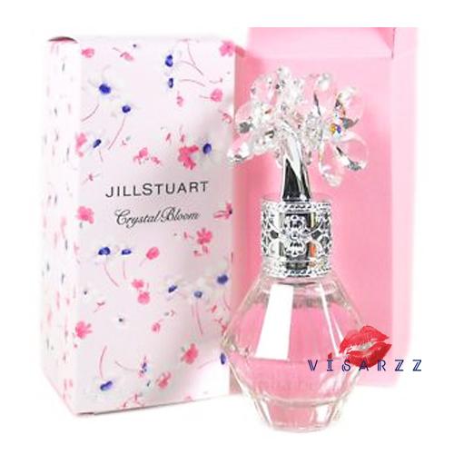 ๋Jill Stuart Crystal Bloom Eau de Parfum 50mL ช่อดอกไม้ที่บานสะพรั่งนับไม่ถ้วน กลิ่นหอมที่ใสเหมือนคริสตัลและน่ารักจะตราตรึงในหัวใจคุณไปชั่วนิรันดร์