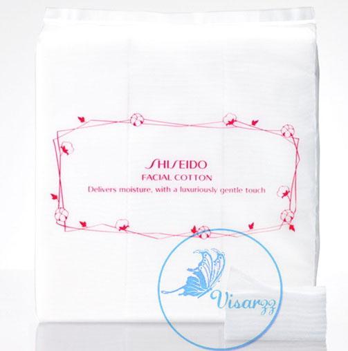 (ลดพิเศษ 30%) Shiseido Facial Cotton 80 g. จำนวน 165 แผ่น สำลีเนื้อนุ่ม ไม่ยุ่ยง่าย ไม่เปลีองเวลาใช้
