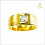 แหวนเพชรแท้ ทองแท้ ท่านชาย(สามารถสั่งทำได้ค่ะ)