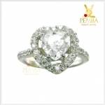 แหวนเพทายขาว สวยโดดเด่น เพิ่มเสน่ห์น่าหลงใหล