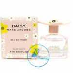 Marc Jacobs Daisy Eau So Fresh EDT 4 mL น้ำหอมแนวกลิ่น Floral Fruity กลิ่นผลไม้แสนสดใสและสดชื่น สะท้อนความน่ารักสดใส