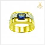 แหวนไพลิน แหวนพลอยไพลิน (สามารถสั่งทำได้ค่ะ)
