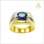 แหวนไพลินแท้ ทอง90 (สามารถสั่งทำได้ค่ะ)