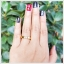 แหวนนพเก้า ทองแท้ ฝังใต้ท้องแหวนเก๋ๆ(สามารถสั่งทำได้ค่ะ) thumbnail 4