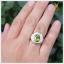 แหวนเพริดอตแท้ เงินแท้ ชุบทองคำขาว thumbnail 4