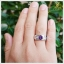 แหวนอเมทิสต์แท้ ทรงกลม สีม่วงสดใสทรงเสน่ห์ thumbnail 3
